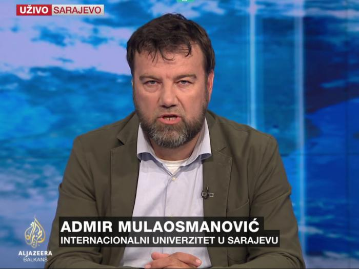 "Prof. Dr. Admir Mulaosmanovic:  ""On the Crisis of the EU-Turkey in the post Referendum era"""